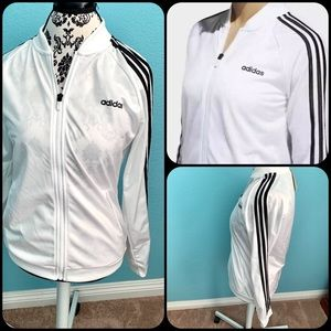 New Women's M - adidas track suit top